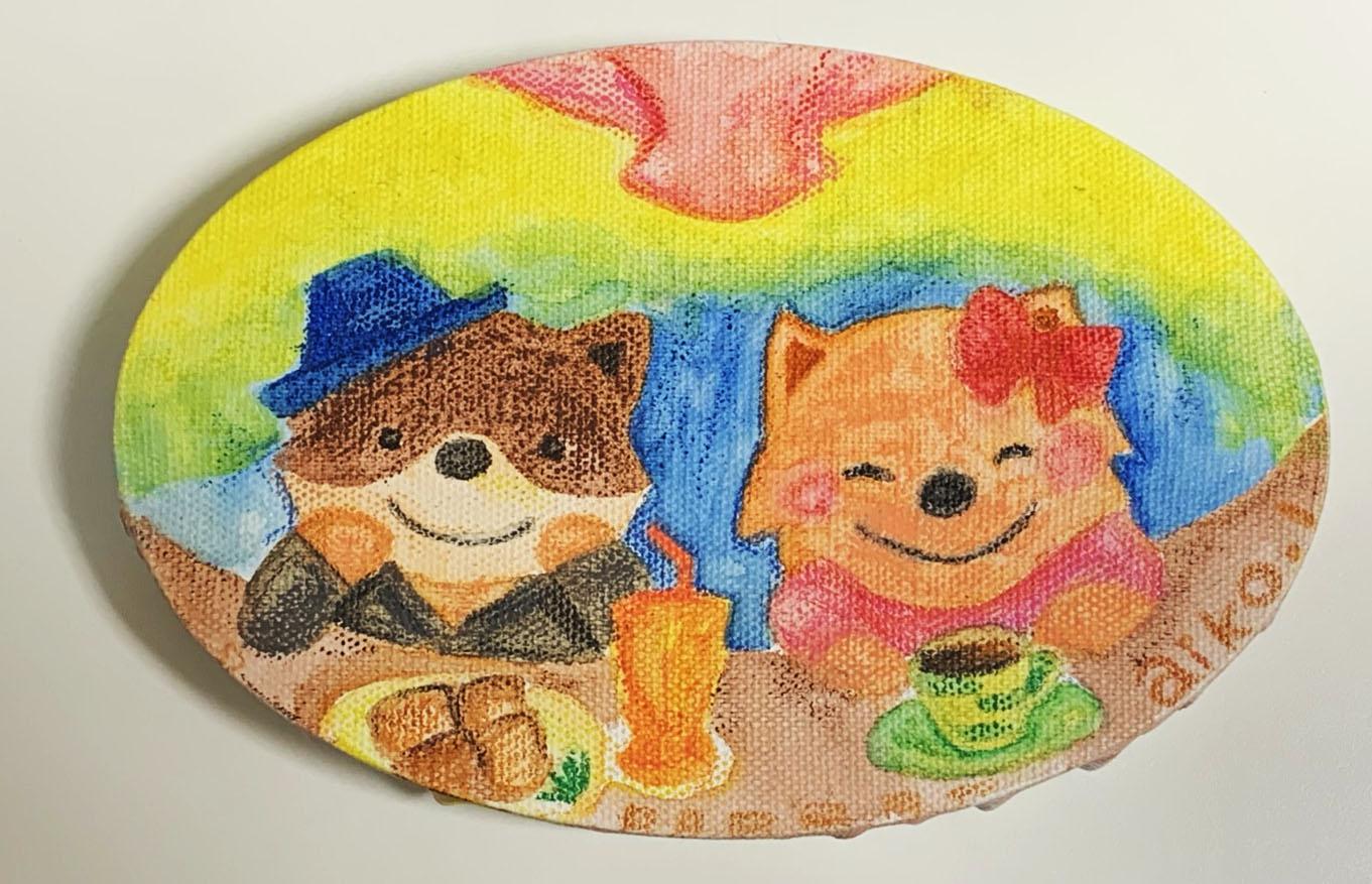 カフェエスキス15周年記念 特別企画展- みんなで彩る『150きゃんばす』-